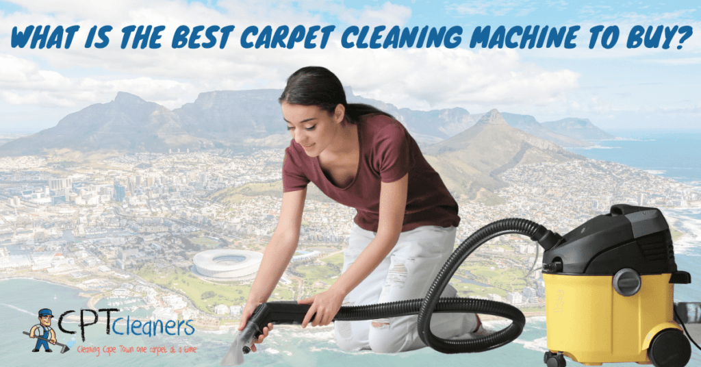 best carpet cleaning machine to buy